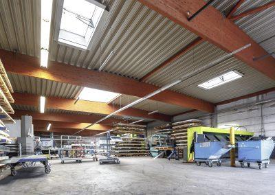 Rifa Kanttechnik - Produktion und Lager am Firmensitz in Rietberg